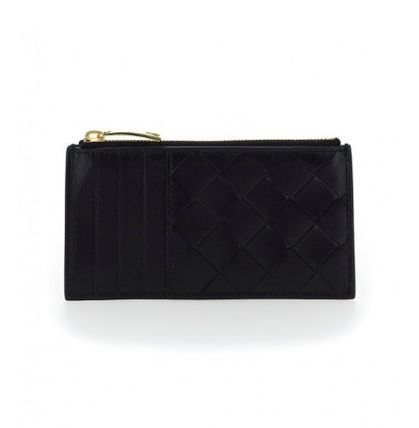 BOTTEGA VENETA CASSETTE Lambskin Card Holders