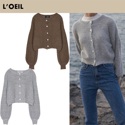 Casual Style Street Style Long Sleeves Cardigans