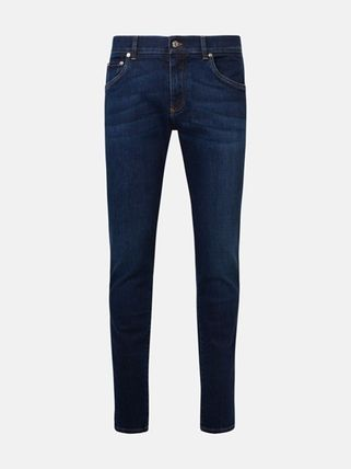 Dolce & Gabbana More Jeans Denim Plain Cotton Logo Jeans 3