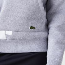 LACOSTE Hoodies Pullovers Sweat Street Style Long Sleeves Plain Cotton Logo 10