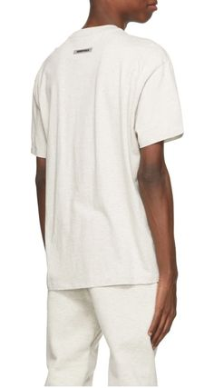 FEAR OF GOD ESSENTIALS Street Style Cotton Short Sleeves Logo T-Shirts