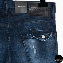 D SQUARED2 More Jeans Denim Street Style Logo Jeans 10