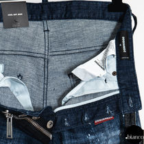D SQUARED2 More Jeans Denim Street Style Logo Jeans 11