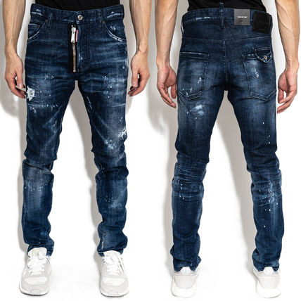 D SQUARED2 More Jeans Denim Street Style Logo Jeans