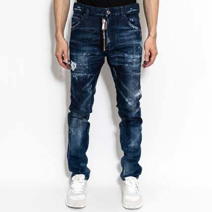 D SQUARED2 More Jeans Denim Street Style Logo Jeans 2