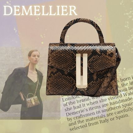 Casual Style 2WAY Other Animal Patterns Leather