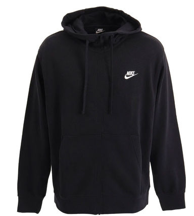 Nike Unisex Plain Cotton Logo Hoodies & Sweatshirts