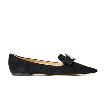 Jimmy Choo Casual Style Suede Blended Fabrics Plain Party Style