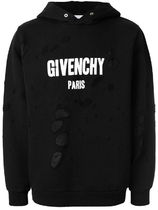 GIVENCHY Street Style Long Sleeves Cotton Logo Luxury Hoodies