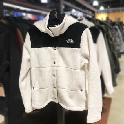 THE NORTH FACE Casual Style Street Style Plain Leather Office Style Logo