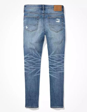 American Eagle Outfitters More Jeans Street Style Plain Jeans 3