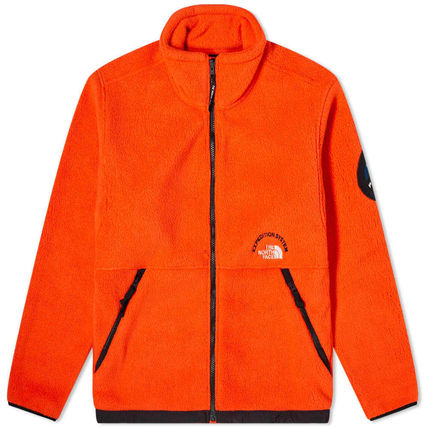 THE NORTH FACE Unisex Studded Street Style Plain Long Logo Chester Coats