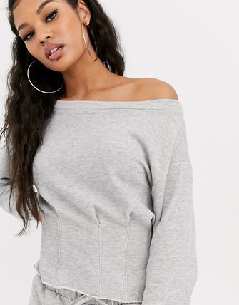 ASOS Loungewear Sweat Plain Cotton Street Style