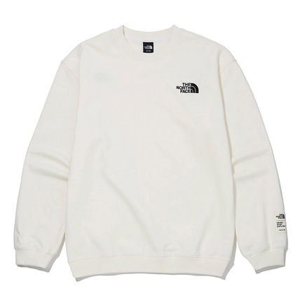 THE NORTH FACE Long Sleeve T-shirt Outdoor U-Neck Long Sleeves Plain