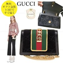 GUCCI Party Style Elegant Style Crossbody Shoulder Bags