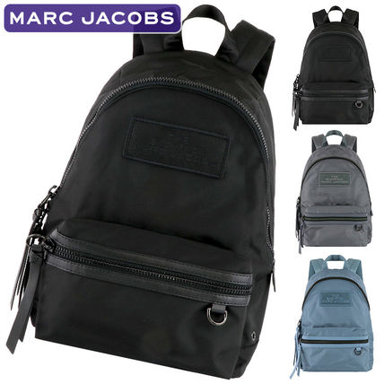 MARC JACOBS Casual Style Nylon Plain Backpacks