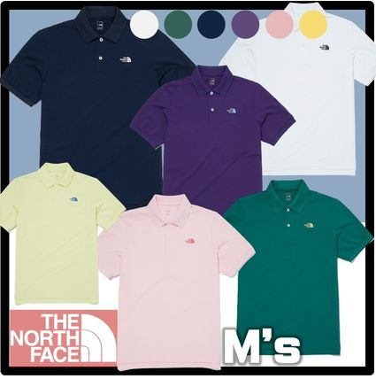 THE NORTH FACE Street Style Short Sleeves Outdoor Polos