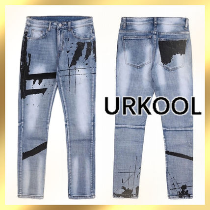 URKOOL More Jeans Denim Street Style Jeans
