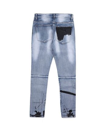 URKOOL More Jeans Denim Street Style Jeans 3