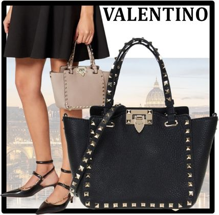 VALENTINO Formal Style  Casual Style Street Style Totes