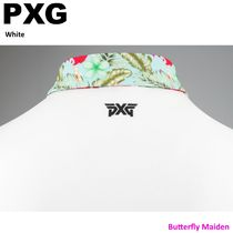 PXG Polos Pullovers Tropical Patterns Street Style Plain Short Sleeves 12
