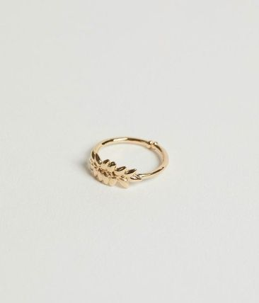 Casual Style Handmade Brass 18K Gold Office Style