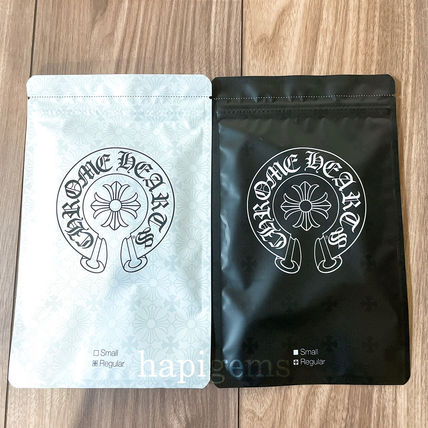 CHROME HEARTS Unisex Street Style Logo Face Masks