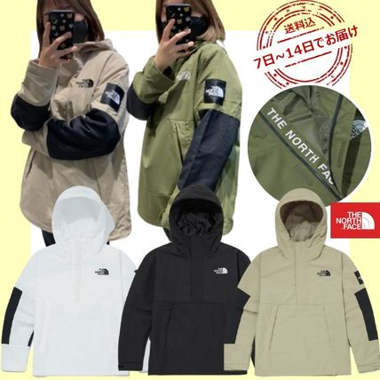 THE NORTH FACE Casual Style Unisex Street Style Nylon Jacket  Logo