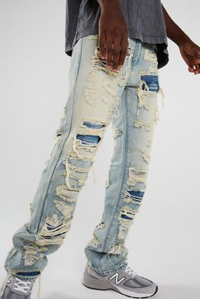 JADED LONDON More Jeans Denim Street Style Cotton Jeans