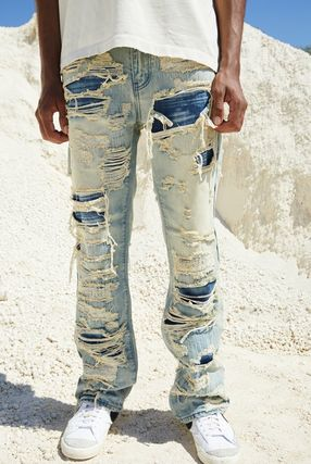 JADED LONDON More Jeans Denim Street Style Cotton Jeans 3