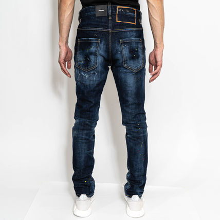 D SQUARED2 More Jeans Denim Street Style Logo Jeans 3