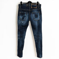 D SQUARED2 More Jeans Denim Street Style Logo Jeans 8