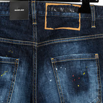 D SQUARED2 More Jeans Denim Street Style Logo Jeans 9