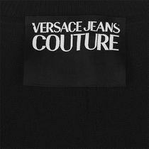VERSACE Sweaters Crew Neck Pullovers Street Style Long Sleeves Plain Cotton 6