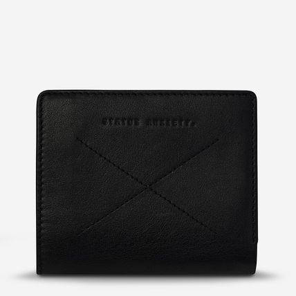 Folding Wallet Logo Plain Leather Folding Wallets