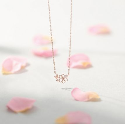 ★LLOYD★Butterfly Ranunculus Love Necklace
