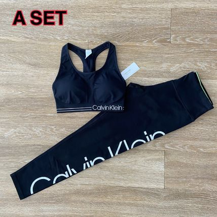 Calvin Klein Blended Fabrics Street Style Co-ord Activewear Bottoms