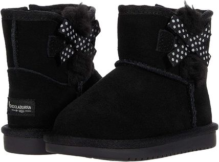 Studded Street Style Kids Girl Boots