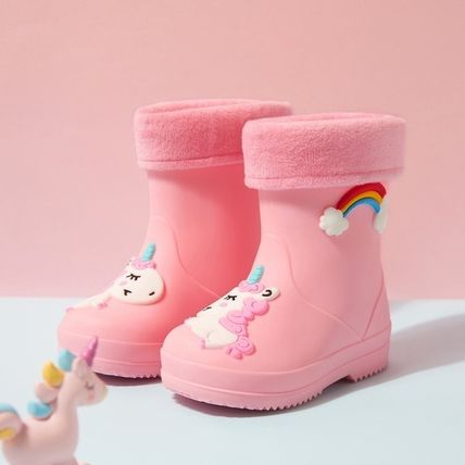 PatPat Kids Girl Rain Shoes