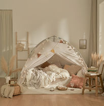 DECO VIEW Premium One Touch Heating Tent Q size + Garland1EA SET