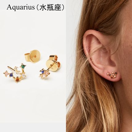 Casual Style Handmade Party Style Silver 18K Gold