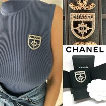 CHANEL Costume Jewelry Casual Style Party Style Office Style