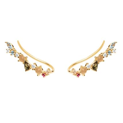 Costume Jewelry Casual Style Handmade Silver 18K Gold