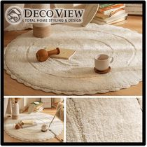 DECO VIEW Round Carpets & Rugs