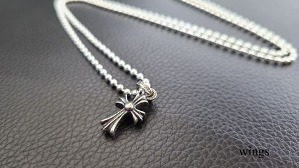 CHROME HEARTS CH CROSS Chain Silver Necklaces & Chokers