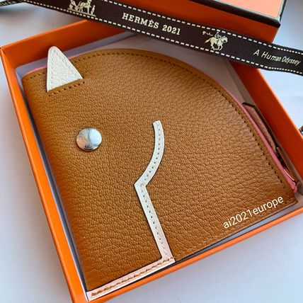 HERMES Logo Coin Cases
