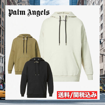 Palm Angels Hoodies Street Style Hoodies