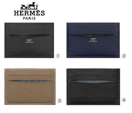 HERMES Citizen Twill Citizen Twill Card Case