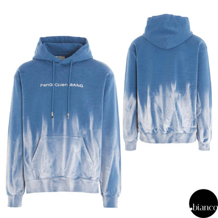 Pullovers Unisex Sweat Street Style Tie-dye Long Sleeves