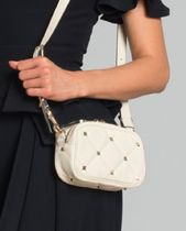 VALENTINO Studded Leather Crossbody Shoulder Bags